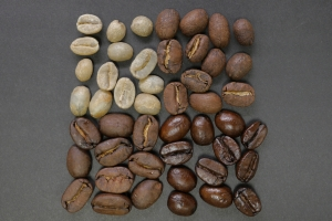 Commodity management for agriculture- green coffee, roasted coffee