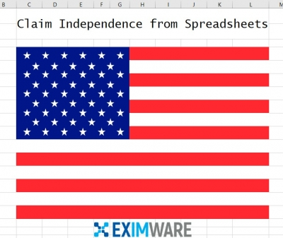 Spreadsheet Eximware Flag