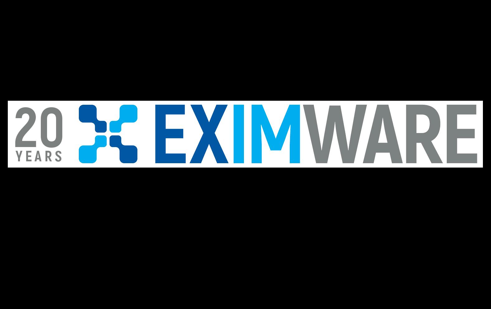 20th Anniversary Eximware Logo